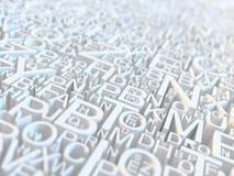 bokstäver Arkivbilder