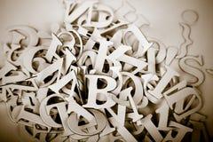 bokstäver Arkivbild