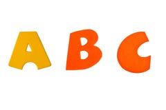 bokstäver för b c Royaltyfria Bilder