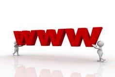 bokstäver som 3d lyfter män www stock illustrationer