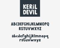 Bokstäver typografi använd teknologi för ta för bilder för foto för lampa för alfabetengelskafrysning var Royaltyfri Foto