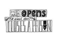 bokstäver Typografiaffisch ägget för designen för bakgrundsblackclosen stekte upp pannaskjorta t Vektoruttryck på vit bakgrund stock illustrationer