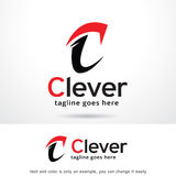 Bokstav C Logo Template Design Vector Royaltyfri Illustrationer
