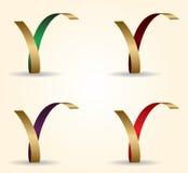 Bokstav för vektorillustration 3D av r-designen Royaltyfri Bild
