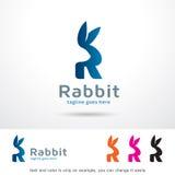 Bokstav R Logo Template Design Vector Fotografering för Bildbyråer