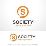 Bokstav S Logo Template Design Vector, emblem, designbegrepp, idérikt symbol, symbol Arkivbilder