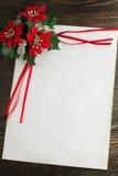 Bokstav till Santa Claus Fotografering för Bildbyråer