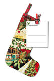 Bokstav till Santa Claus. Holländsk version. Arkivbild