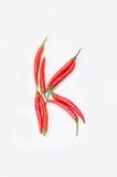 Bokstaven K på en vit bakgrund royaltyfri bild