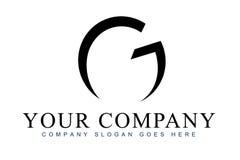 BokstavsG-logo Royaltyfri Fotografi