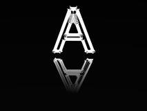 bokstavsskelett Arkivfoton