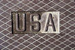 bokstavsstål USA Arkivfoto