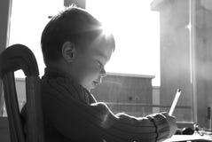 bokstavswriting fotografering för bildbyråer