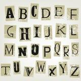bokstäver Fotografering för Bildbyråer