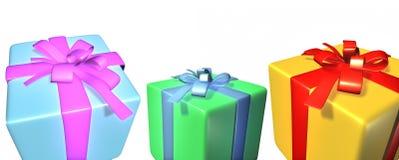 boksuje prezent zdjęcia royalty free