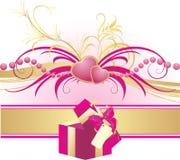 boksuje serce ornament Fotografia Royalty Free