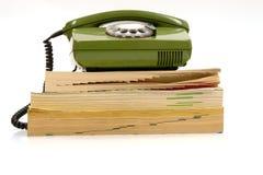 boktelefon Fotografering för Bildbyråer