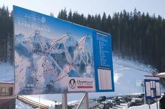 Bokuvel skidar semesterorten Royaltyfri Fotografi