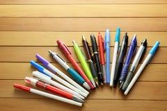 Bolígrafos Foto de archivo