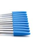 Bolígrafos azules ilustración del vector