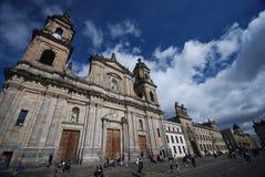 Bolívar van het plein - Bogotoa Stock Fotografie
