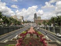 Bolívarweg, Avenida-Bolívar, Caracas, Venezuela royalty-vrije stock afbeeldingen