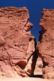 Bolívia, Tupiza - o beautifull Andes em América Foto de Stock Royalty Free