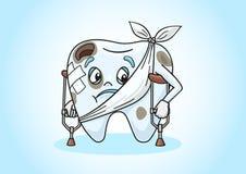 Bolący ząb Zdjęcia Stock