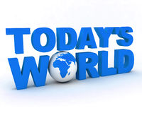 Bol 004 van de Wereld WWW Stock Foto