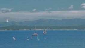 Bol blue sea Stock Image