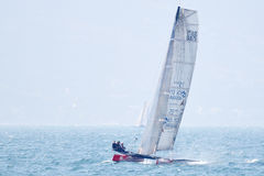 Bol D'or Mirabaud sailing - Multicento 2012 Royalty Free Stock Photos