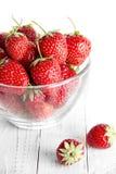 Bol de fraise Images stock