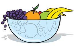 Bol de fruit illustration stock