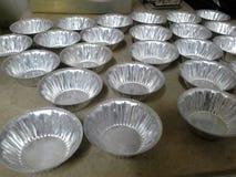 Bol de gelée thaïlandaise de noix de coco Photo libre de droits