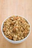 Bol de granola photo stock