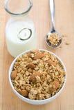 Bol de granola photos stock