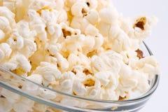 Bol de maïs éclaté Photo stock