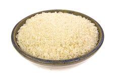 Bol de miettes de pain en écailles de panko Image stock