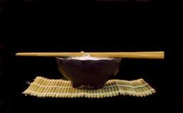 Bol de nouille de riz Photographie stock