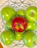 Bol de pommes Image stock