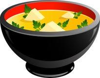 Bol de potage Image stock