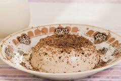 Bol de pudding Image libre de droits