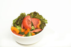 Bol de salade fraîche Photo libre de droits