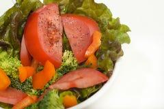 Bol de salade fraîche Photos stock