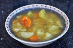 Bol de soupe Images stock
