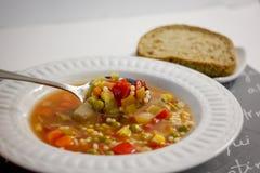 Bol de soupe Images libres de droits