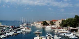 Bol, Eiland Brac, Kroatië, Dalmatië stock afbeelding
