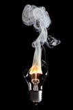 Bol en brand Stock Afbeelding