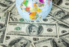Bol en dollars Stock Afbeeldingen