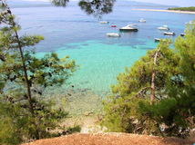 Bol, ilha Brac, Croácia Fotos de Stock Royalty Free
